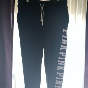 Never Worn Black and White Pink Sweats